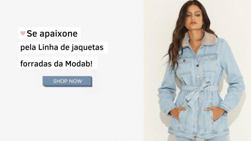 Linha de jaquetas forradas da Modab