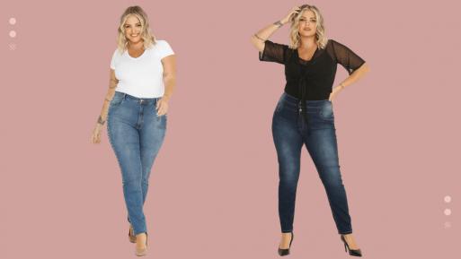 calças modeladoras