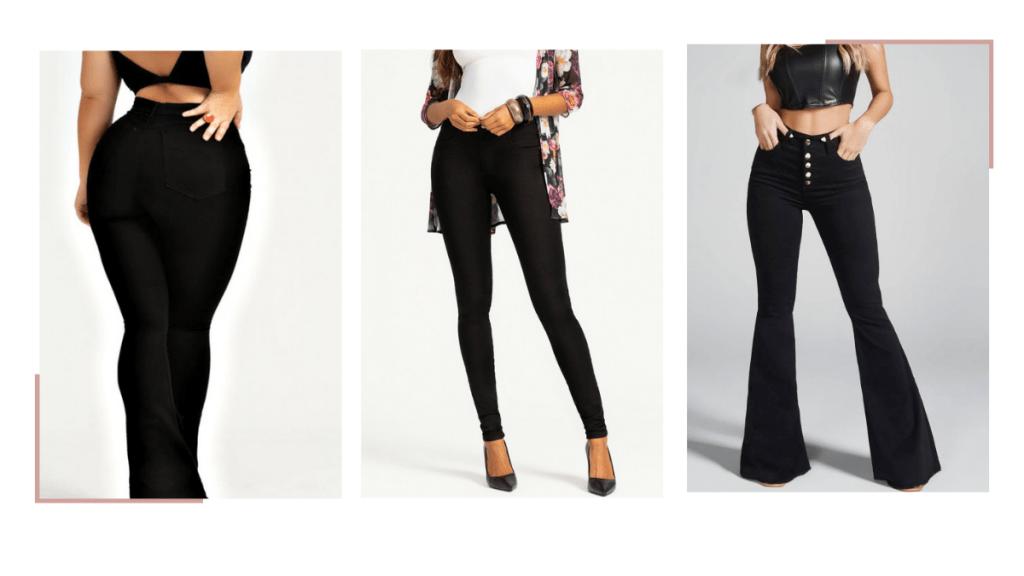 Calça jeans preta que não desbota: os modelos mais amados