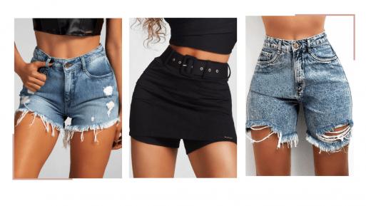 Nova Coleção shorts jeans